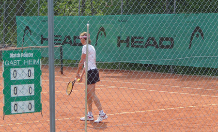 Deutscher Tennisclub (DTC) Brannenburg, Head Bandenwerbung