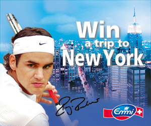 Roger Feder, Wilson Racket - Win a trip to New York