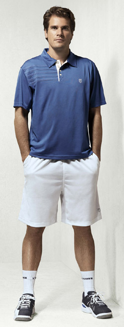 Tommy Haas, K-Swiss Clothing & Shoes