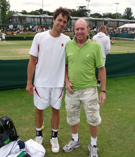 Wimbledon 2009, Quali - Simon Greul, Paul Brock